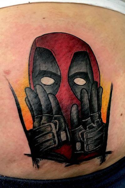 Deadpool #tattooartist #art #deadpool #marvel #comic #neotraditional #traditional #mannheim