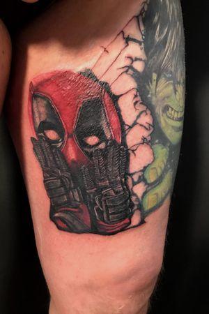 #marvel #Deadpool #color