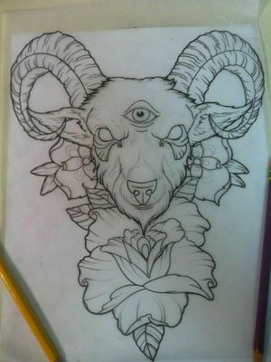 Goat Wiccan Witchy Pagan