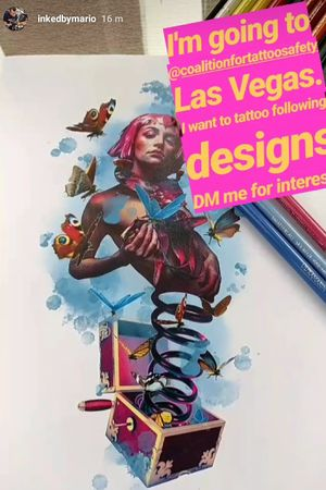I'm going to @coalitionfortattoosafety Las Vegas. I want to tattoo following designs Email me for interest! Inkedbymario@gmail.com