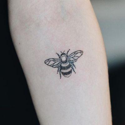 #bee #bumblebee #hand #cute #animal #shade #shadow