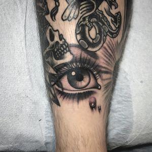 #eye #eyetattoo #eyes