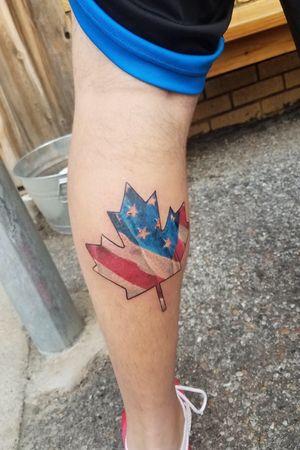 Usa canada tattoo