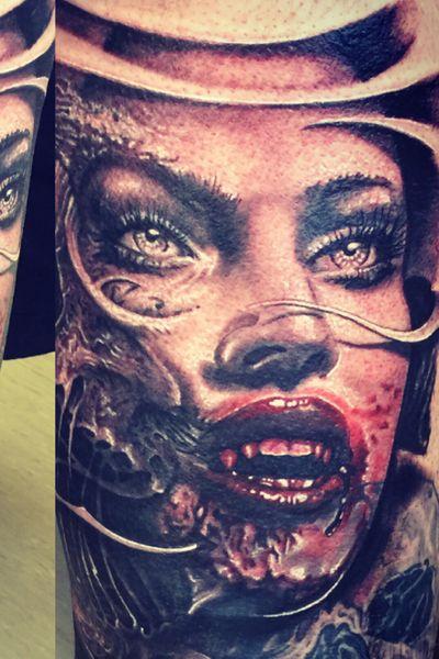 #vampire #vampiretattoo #girl