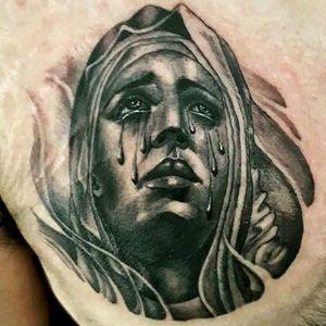 Crying Mary #religious #mary