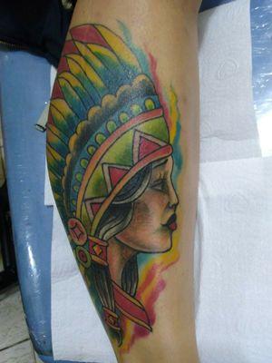 Tattoo colorida