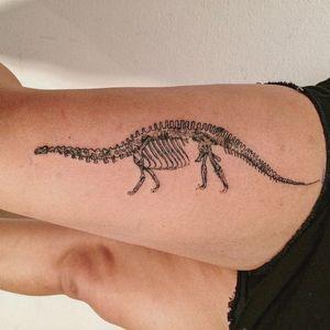 Gracias Ale. Done in Buenos Aires #dino #dinossaur #danilodelfino #animal