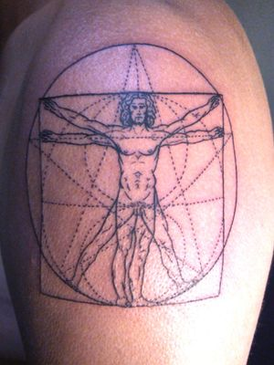 #vitruvianmantattoo #tattoo #tatouages