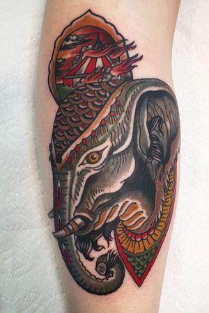 Tattoo by Hidden Coast Tattoo
