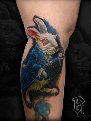 White Rabbit from Alice in wonderland #realism #photorealism #colorportrait #realistictattoo #colorrealism #aliceinwonderland #whiterabbit #AliceinWonderlandtattoo