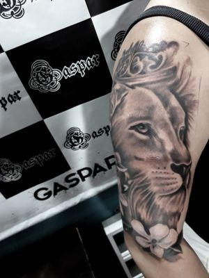 #lion #liontattoo #lionking #blackandgrey #blackandgreytattoo #Black