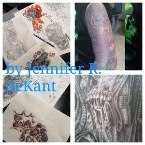 #biomechanicaltattoo #drawingtattoo #artist #tattooartist