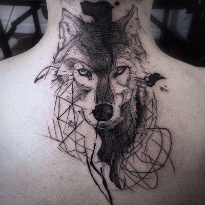 #wolf #wolftattoo #danilodelfino #lobo