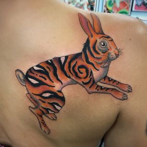 Tiger-RBbit by @shauntopper