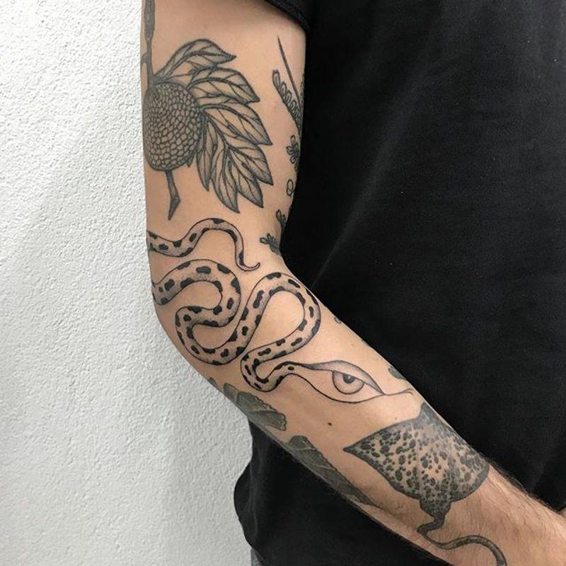 Tattoo from Alvaro Grozny