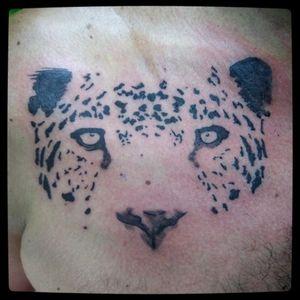 #blackline #dinamicink #skink #stencilstuff #leopardo #felino #piittattoo #leopardtattoo #leopard #salvadorlobo