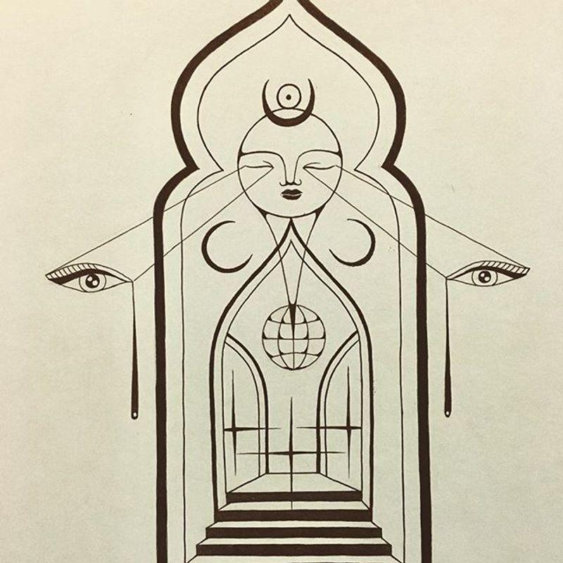 Tattoo from Shishkin Mikhail