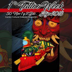 1th international tattoo week in Santiago of Chile.
