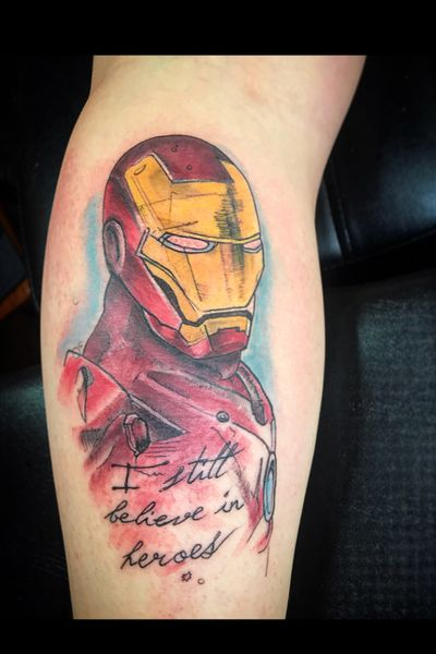 🎵IronManIronMan🎵🎵 #marvel #MarvelTattoos #ironman