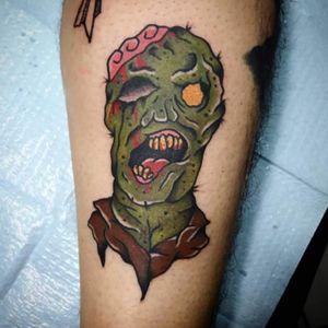 #traditionaltattoo #zombie #zombietattoo