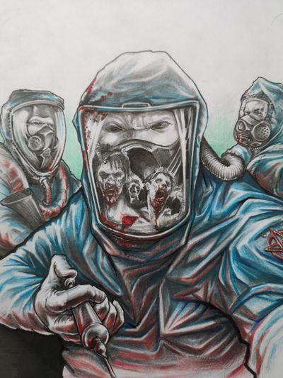 #zombie #biohazard #blood