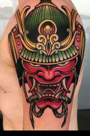 #samurai #mask #japanese #color #italy