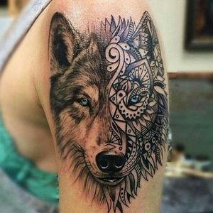 I really want a wolf head tattoo and I have no tattoos currently but I'm saving up money to get one