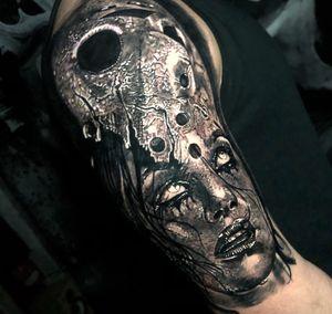 2 Days in a row. Sleeve progress. #tattoo #tattoos #tattooartist #BishopRotary #BishopBrigade #BlackandGreytattoo #QuantumInk #ImmortalAlliance #SullenClothing #SullenArtCollective #Sullen #SullenFamily #TogetherWeRise #ArronRaw #RawTattoo #TattooLand #InkedMag #Inksav#BlackandGraytattoo #tattoodoapp #tattoodo @tattoodo