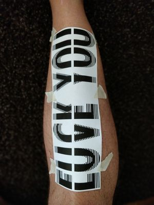 Maybe my next tattoo #nexttattoo #shin #design #FuckYou #LoveYou #shintattoo