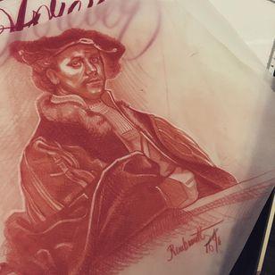 Tattoo illustration by Celio Macedo #CelioMacedo #MotorinkFinest #Amsterdam #tattooflash #illustration