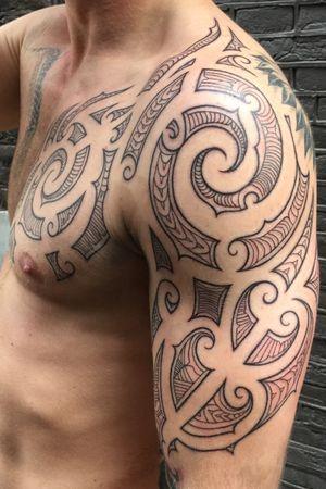 #maoritattoo #polynesian #polynesiantattoo #tribal #tribaltattoo #amsterdamtattoo