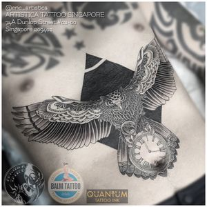 Cover up piece with this customized owl on my client stomach. Intertested in getting a piece like this? Whatsapp me at +65 82222604 or you can email me at eric.artistica@gmail.com. Visit my IG: @eric_artistica or FB: www.facebook.com/MR.INK for more of my work. #tattoo #tattooed #sgtattoo #singaporetattoo #owl #dotwork #coverup #clock #artistica #artisticatattoo #artisticasingapore #ericartistica #ericlohtattoos #balmtattoo #balmtattoosg #balmtattoosingapore #balmtattooartist #balmtattooteamsg #dragonbloodbutter #criticaltattoosupply #nedzrotary #quantumtattooink #quantumtattooinkindia #quantumtattooink_sea