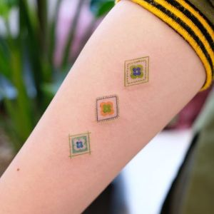Tattoo by Siyeon #Siyeon #patterntattoos #pattern #ornamental #linework #blackwork #design #motif #symbol #folkart