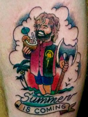 """Tyrion Lannister """"Summer is Coming"""""""