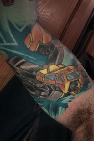 Almost done!#transformers #transformerstattoo #Autobot #decepticons