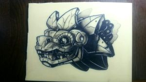Dragon #tete #learning #inked #ink #apprenticetattoo #tattoo #tattooapprentice #apprentice #tattoodragon