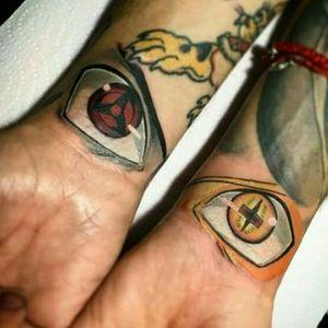 Naruto and Sasuke eyes
