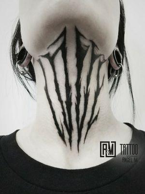 Love 🖤 by @angelmetall  __________ #angelmetall #am_tattoo #darkartist #lettertattoo #darkart #darklettering #love #blackink #tattoooftheday #black