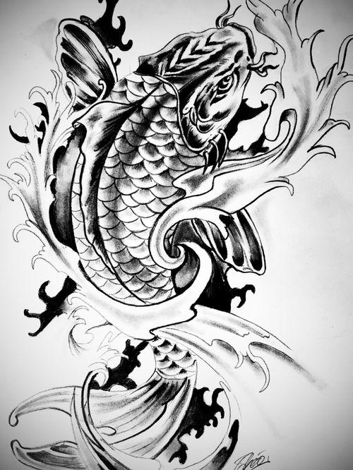 #draw #drawing #art #artoftheday #dessin #artiste #france #flashtattoo #tattoo #tatouage #theotetattoo #arttattoo #tattoolife #carpekoi