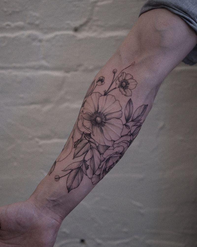 Tattoo from Nadia Andriu