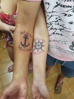 Brasil tattoo casal ..