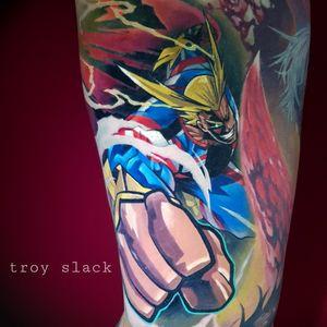All Might! #tatuagem #tatuaje #tatouage #tetoviranje #tätowieren #Dövme #tatuering #tatoeëren #tatu #tattoo #tattoos #ink #inked #allmight #myheroacademia #bokunoheroacademia