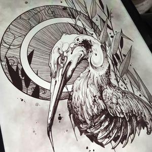 Available for tattoo! I love this piece so much.  Tell me your story. Your tattoo could be poetry... #drawing#originalart #tattooideas #bird #austintexas #dark #darkart #artwork #yoricktattoo #atxart #death #blackwork #austin #dallas #houston #sanantonio #texas #sketch #nature #Artnouveau
