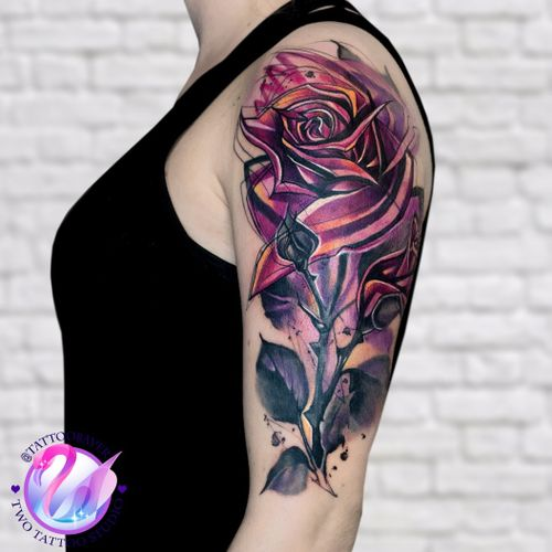 #rose #tattooart  #tattoorose