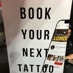 Tattoodo @ The London Tattoo Convention #ltcpickme