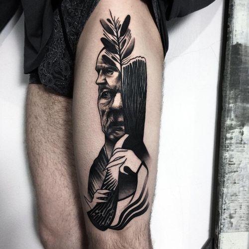 #blackandgrey #realistic #drawing #mythology #tattooartist #tttism #Black