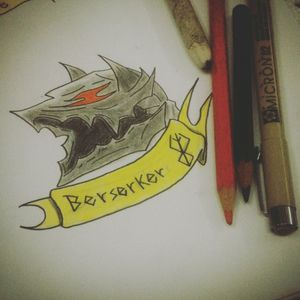 #berserk #berserktattoos #berserker #berserkerarmor #tattoo #tattoooldshcool #tattooanime #tattooart #tattooink #fanarts #berserkmanga #vinigraytattoo #vempraliba