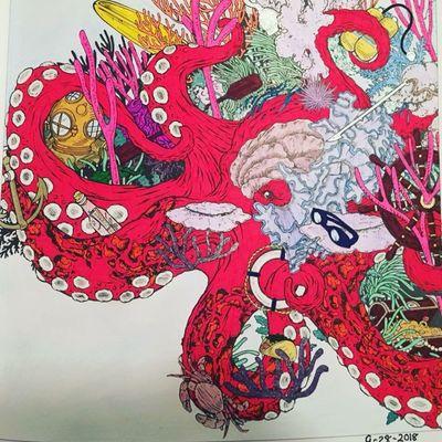 #octopus #seacreature