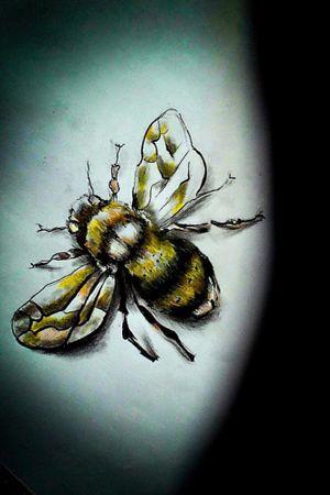 #draw #drawing #dessin #abeille #bae #tattoo #flashart #flashtattoo