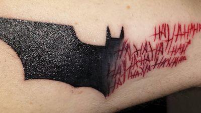 Best Batman/Joker tattoo🙏 #batman #thejoker